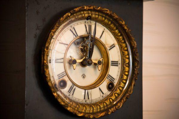 歴史ある時計